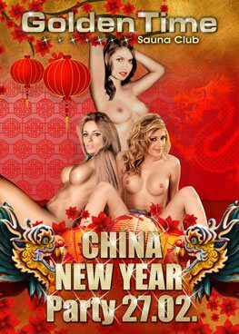China New Year Party am 27.02.2016 im GoldenTime FKK Saunaclub, Brüggen