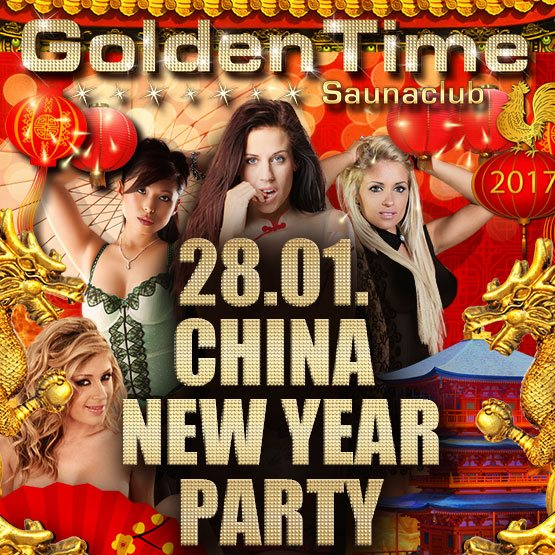 Next Event - China New Year 2017 - GoldenTime FKK Saunaclub - Maximum Girls
