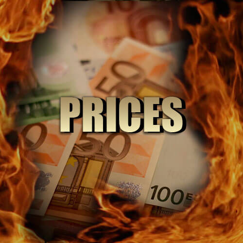 Prices - what's the entry fee and what do you get for it!