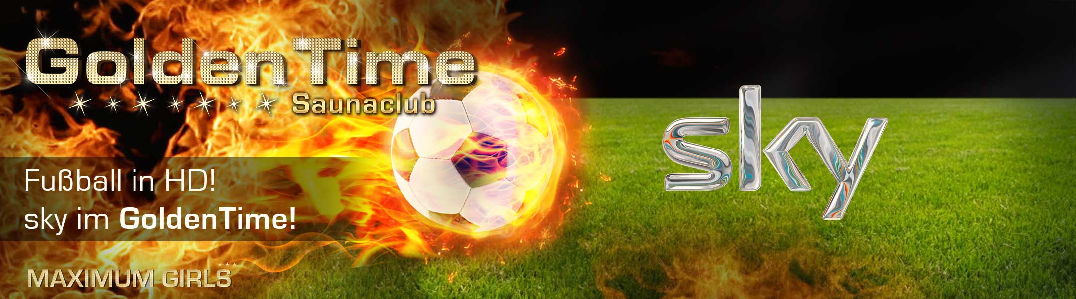 Fussball in HD! sky im GoldenTime!