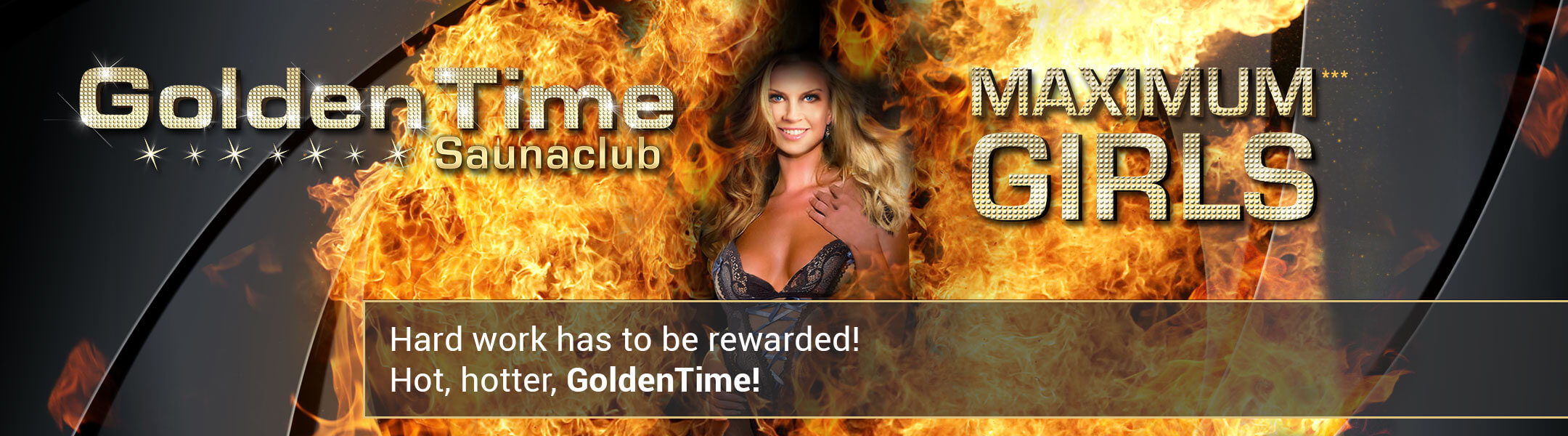 Hard work has to be rewarded! Hot, hotter GoldenTime!