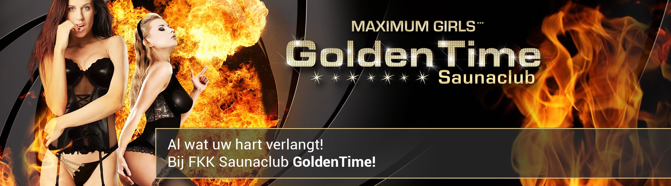 Al wat uw hart verlangt! Bij FKK Saunaclub GoldenTime!