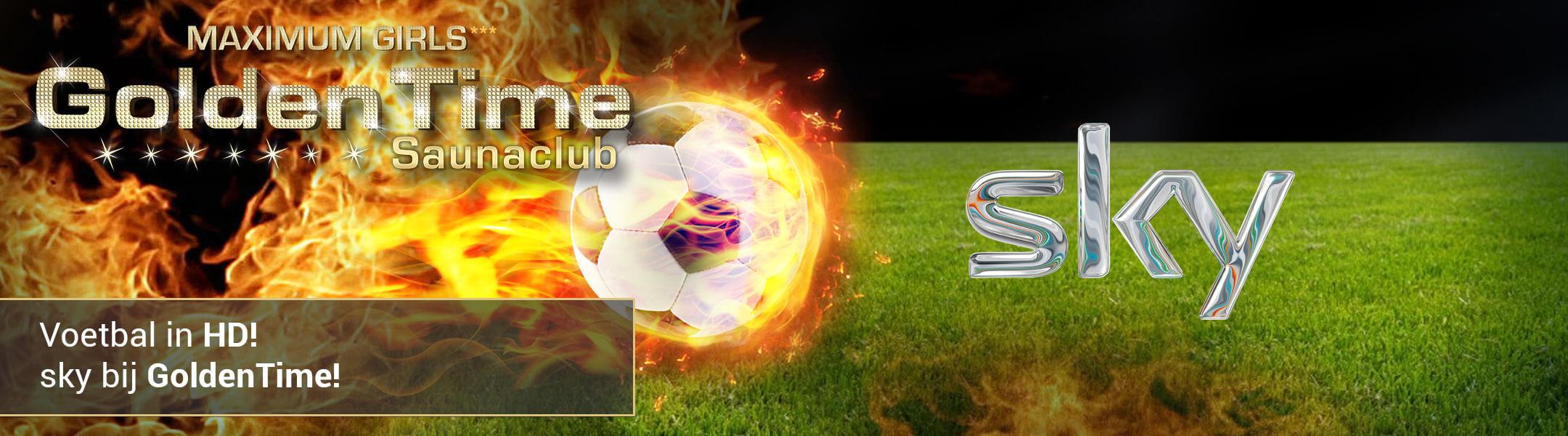 Voetbal in HD! Sky bij GoldenTime!